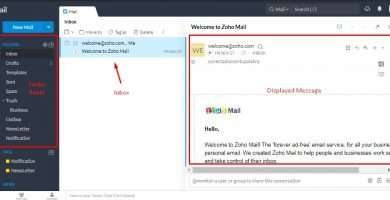 zoho mail account